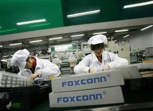 中国FoxconnのiPhone製造