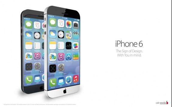 iPhone6デザイン