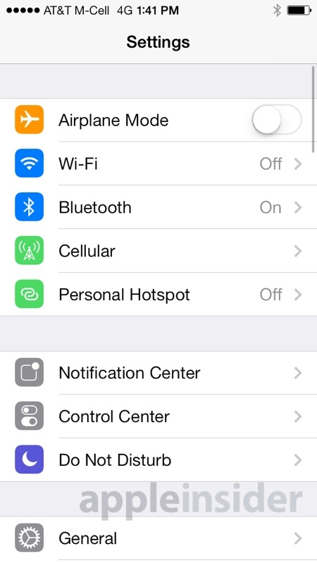 iOS 7 バージョン リリース