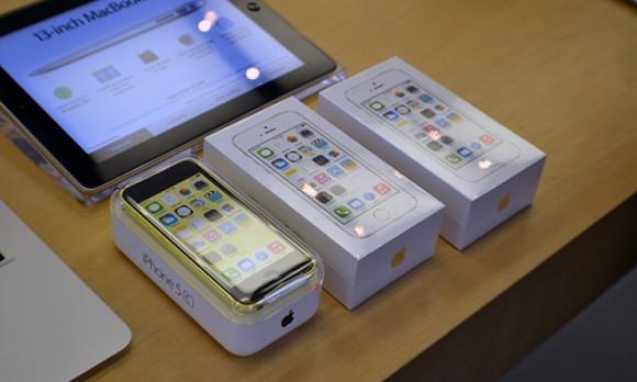 iPhone 5s iPhone5c 発売