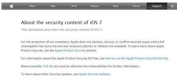 iOS7は80件の脆弱性を修正