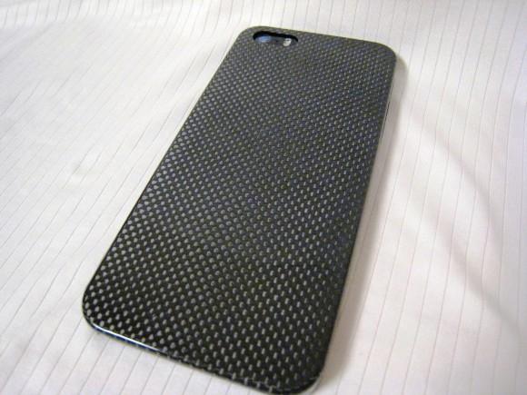 ケース装着状態のiPhone 5s