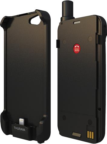 iPhone5で衛星電話