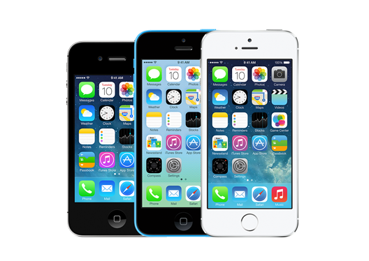 iOS7 / iPhone 5s / iPhone 5cサポート