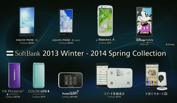 SoftBank 2013Winter-2014Spring Collection