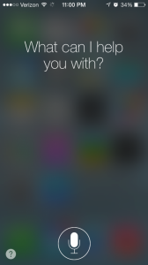Siri, iPhone5s