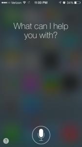 Siri, iPhone5s