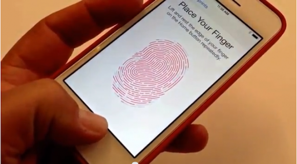 指紋認証動画