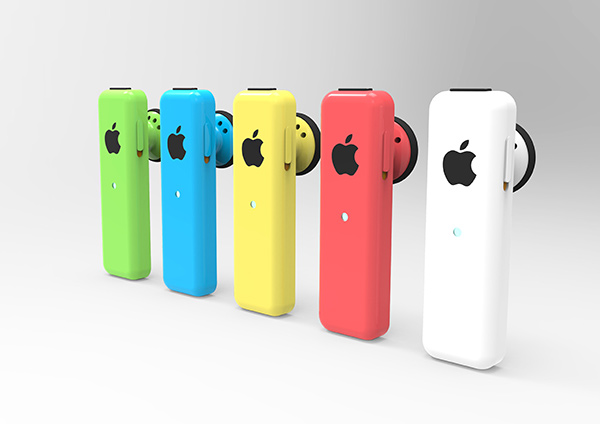 iPhone5c型Bluetoothヘッドフォン