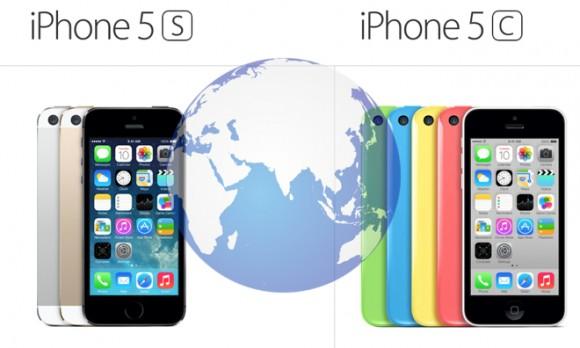 iPhone 5c iPhone 5s