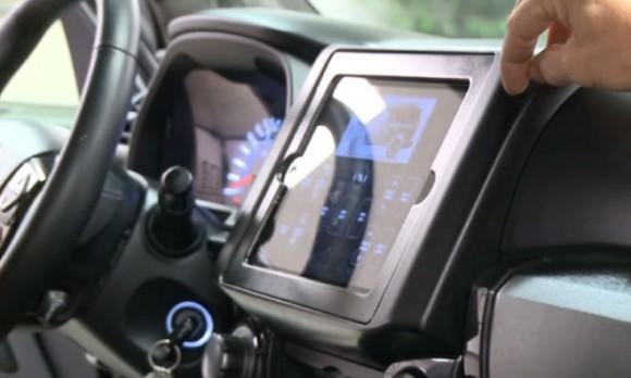 iPad Toyota