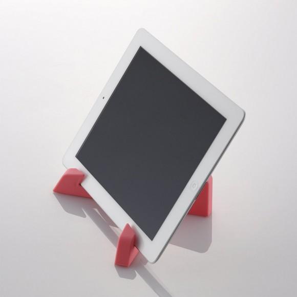 iPhoneにもiPadにも使える滑り止め付きスタンド