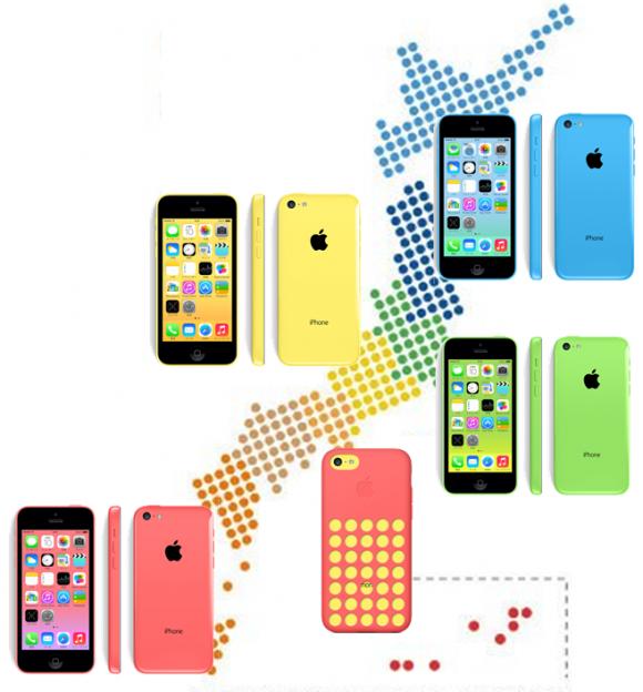 ご当地iPhoneはこのカラーで決まり!