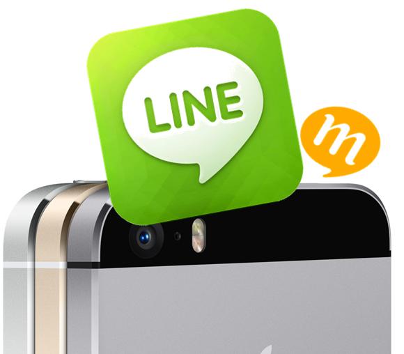 スマホ写真アプリ調査から見えるLINEの強さとmixiの衰退