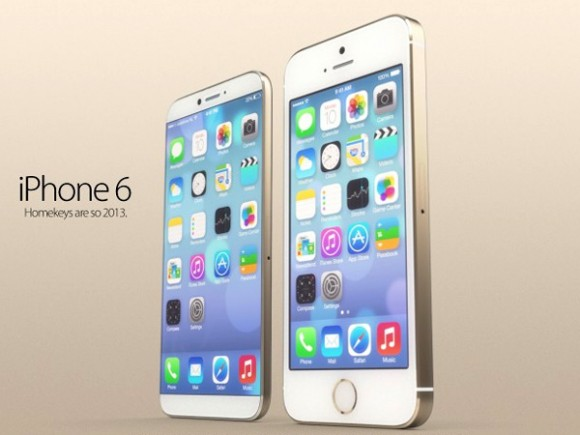 iPhone 5sとiPhone 6の比較