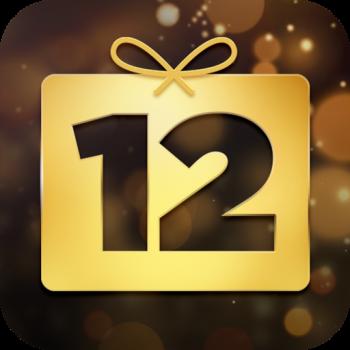 12 DAYS プレゼント アイコン