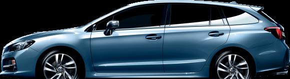 スバルが2014年春に発売する新型車「レヴォーグ」