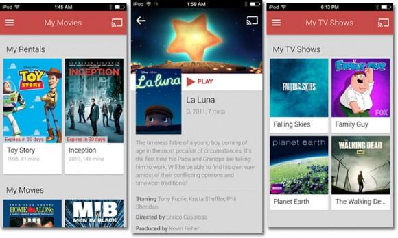 iOS Google Play