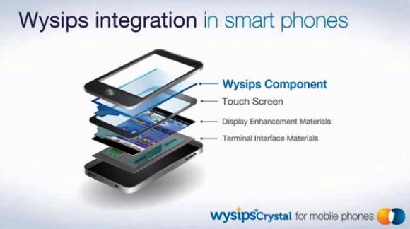 Wysipsは小型ディスプレイに組み込み可能な、透明なガラスのパネル
