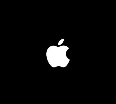 iOS 7フリーズ時のアップルロゴ