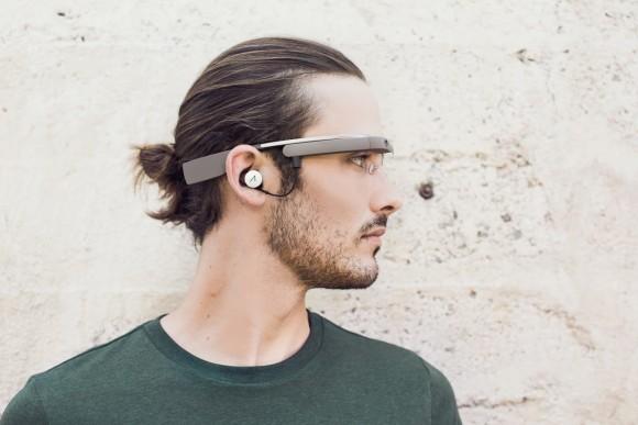 Google Glass 装着