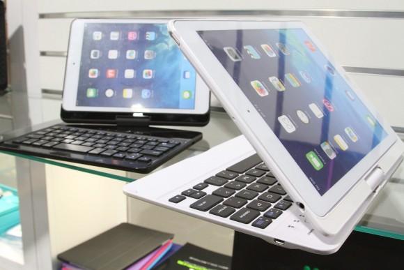 早く市販して!iPad Air / iPad mini を画面回転式PC風に使えるキーボード付きケース