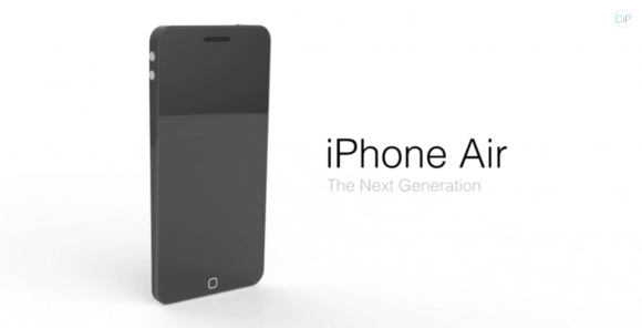 iPhone Air concept