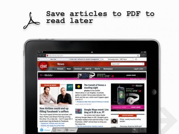 Webページをpdfに簡単保存