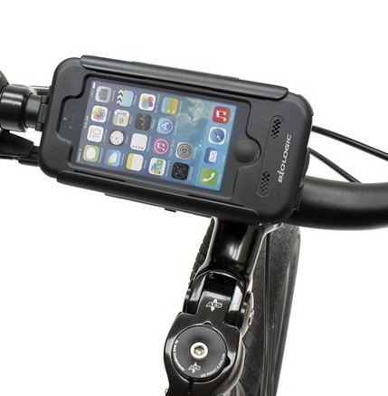 自転車 iPhone