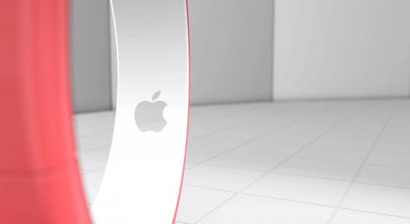 iBandの内側にAppleロゴ