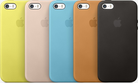 iPhone 5s用純正ケース