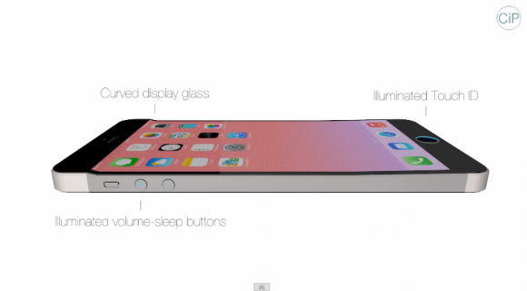 Touch IDセンサーとボリュームボタンにはイルミネーションが内蔵