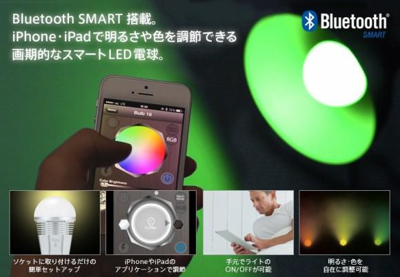 iPhone 照明 操作