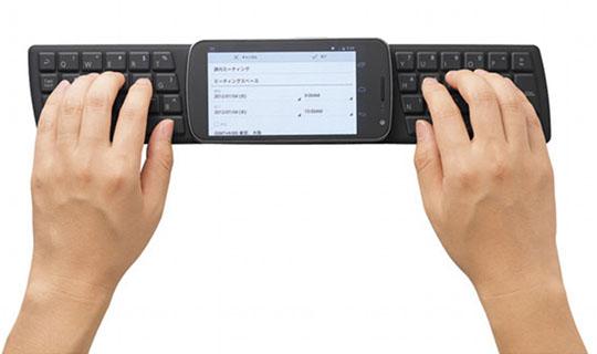 No.8:NFC対応シリコンキーボード TK-FNS040シリーズ(エレコム)