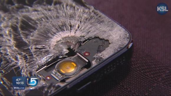 生命を守ったiPhone5