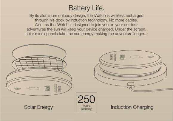 ソーラー充電機能が装備されているほか、ワイヤレス充電も可能