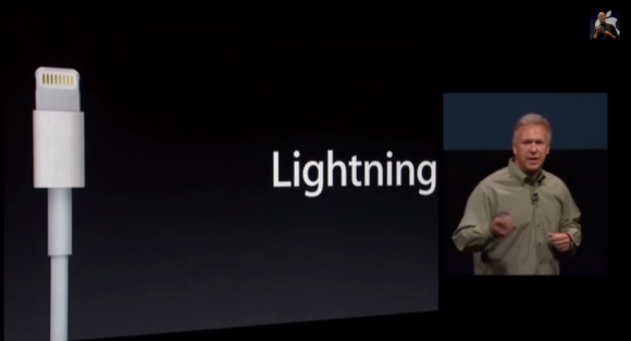 2012年にiPhone5とともにデビューしたLightning規格