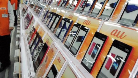 iPhone KDDI au 業績アップ