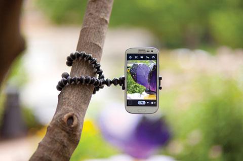 iPhone カメラ 撮影 小型三脚