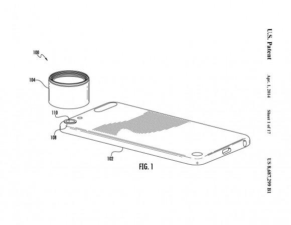 iPhoneオロクリップレンズ特許
