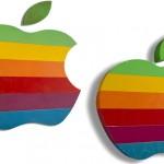 アップル虹色ロゴ