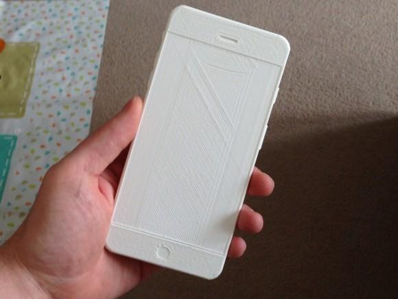 iPhone6のモックを3Dプリンタで作ろう
