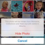 iOS8で写真を隠せる