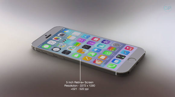 iPhone6コンセプト