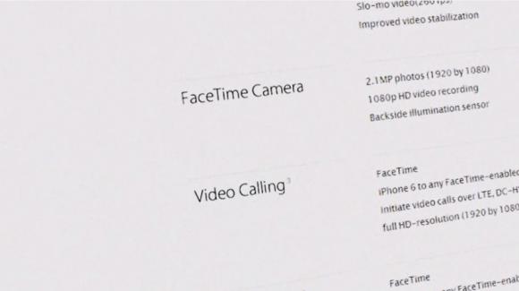 iPhone6スペック(カメラ)