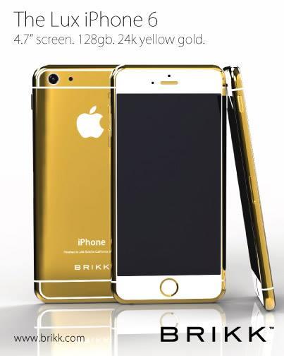 BrikkiPhone6Gold