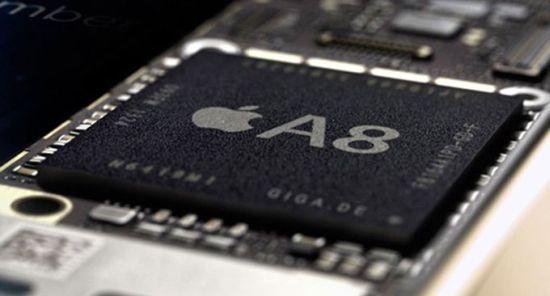 iPhone6に搭載のA8チップ