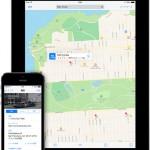 iOS7のマップ
