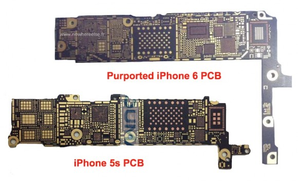 iPhone6のプリント基板