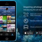 Flickrのトップ画面